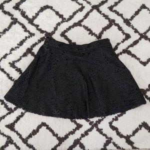 Xhilaration girls faux leather skirt